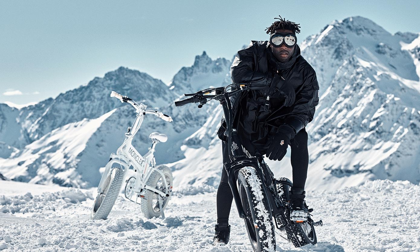 Moncler Genius x Mate.Bike 合作款电动车正式登场