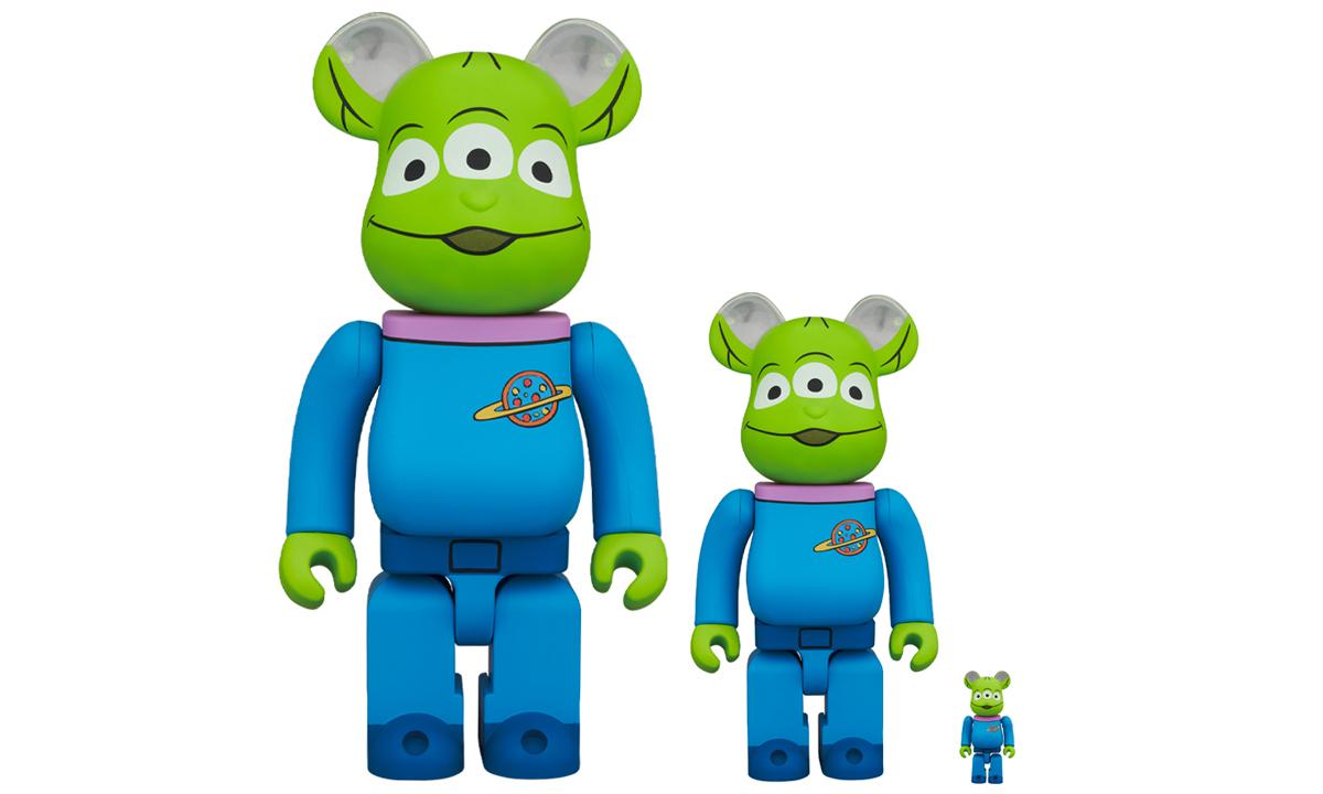 MEDICOM TOY 发布最新《玩具总动员》BE@RBRICK 「三眼仔」角色玩偶