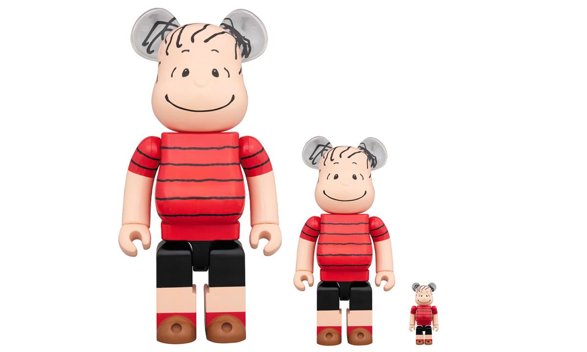 MEDICOM TOY x PEANUTS 发布 Linus 造型 BE@RBRICK 公仔