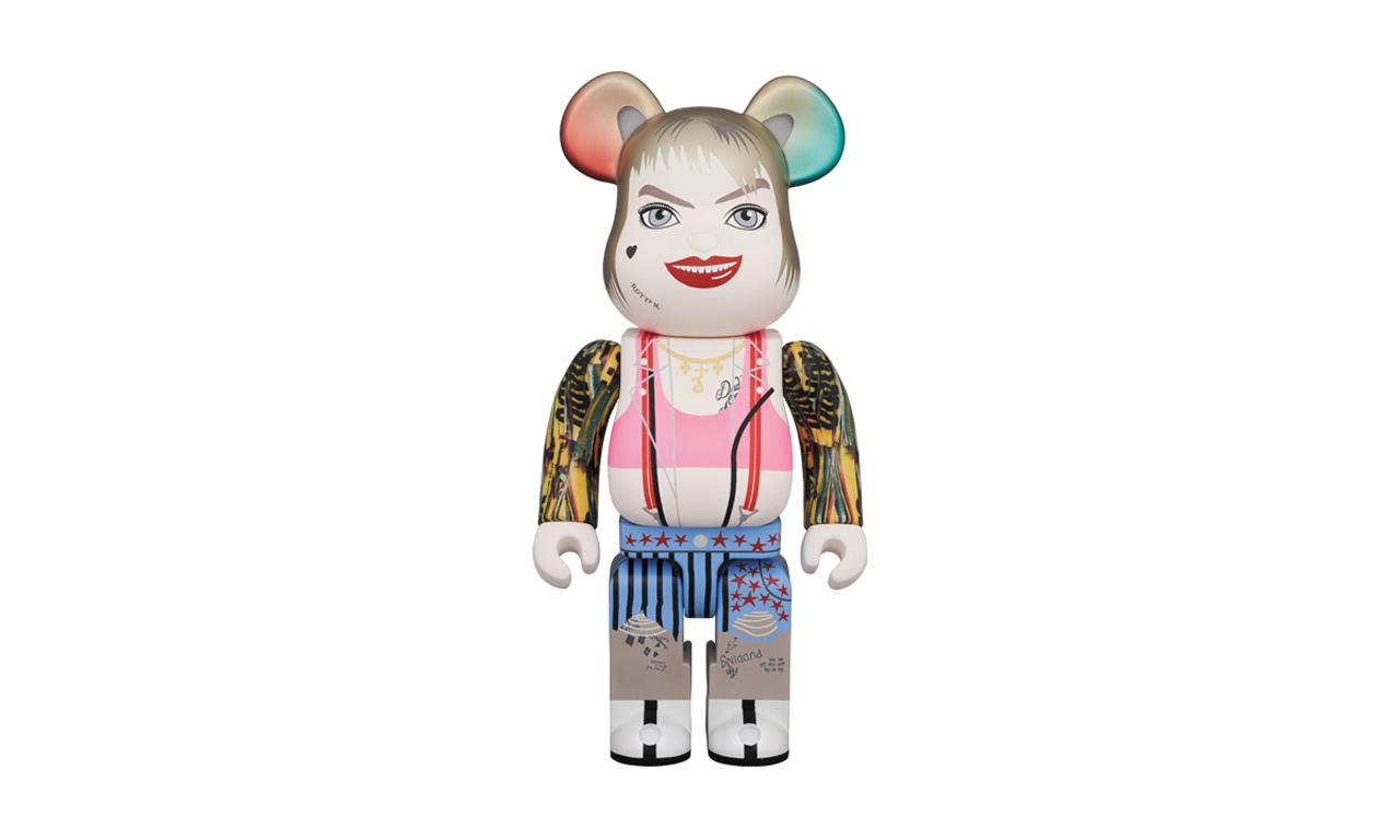 MEDICOM TOY 推出最新「Harley Quinn」  BE@RBRICK 角色玩偶
