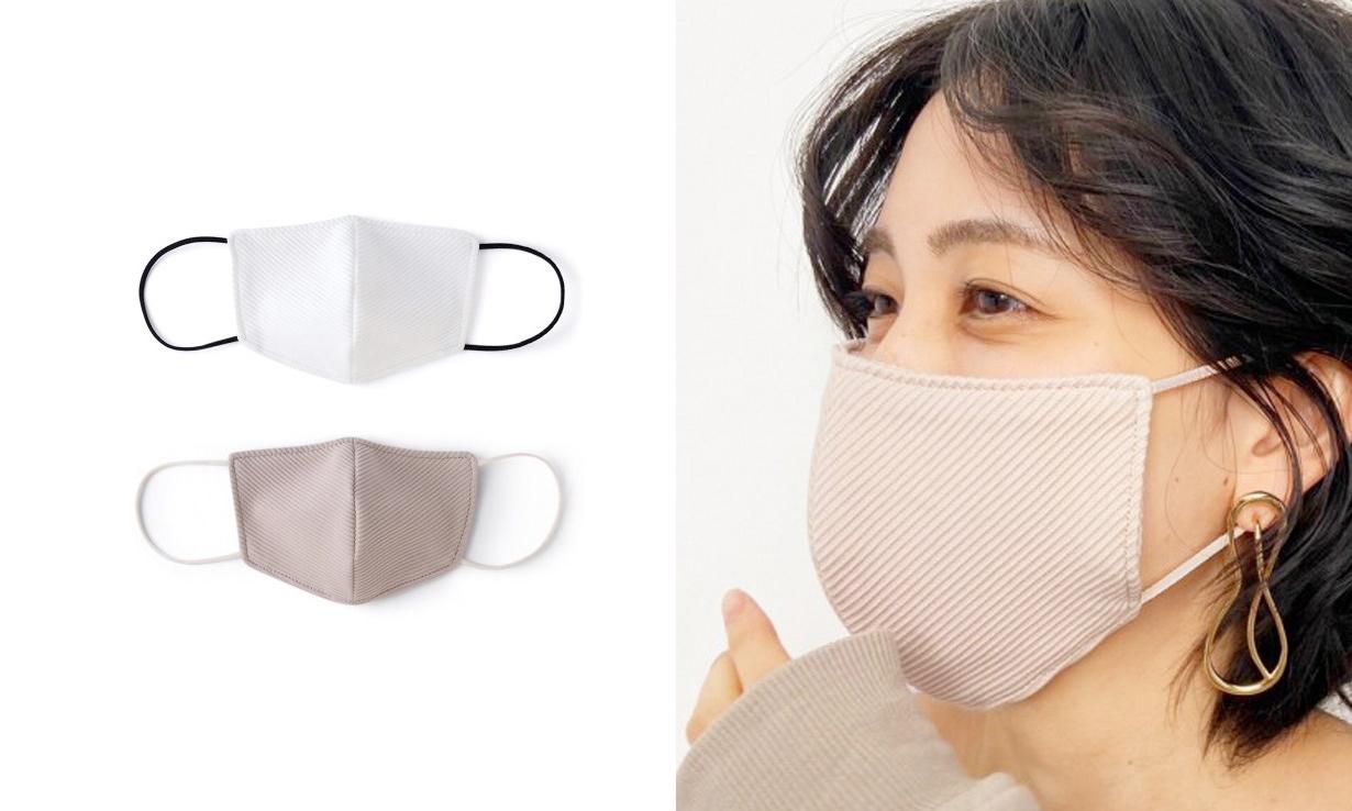 日本时尚品牌 SNIDEL 推出「小颜口罩」