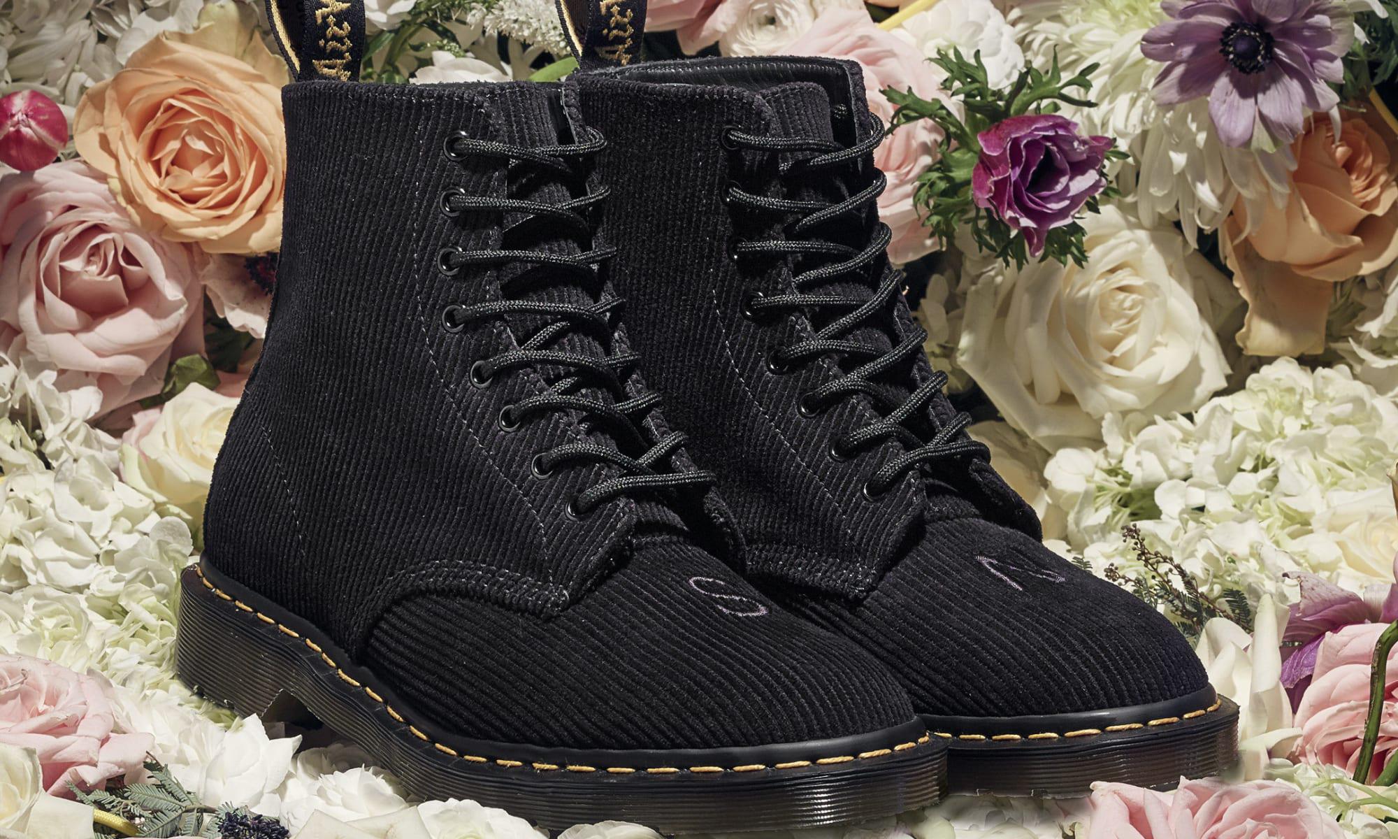 花团锦簇之美,UNDERCOVER x Dr.Martens 联名 1460 鞋款登场