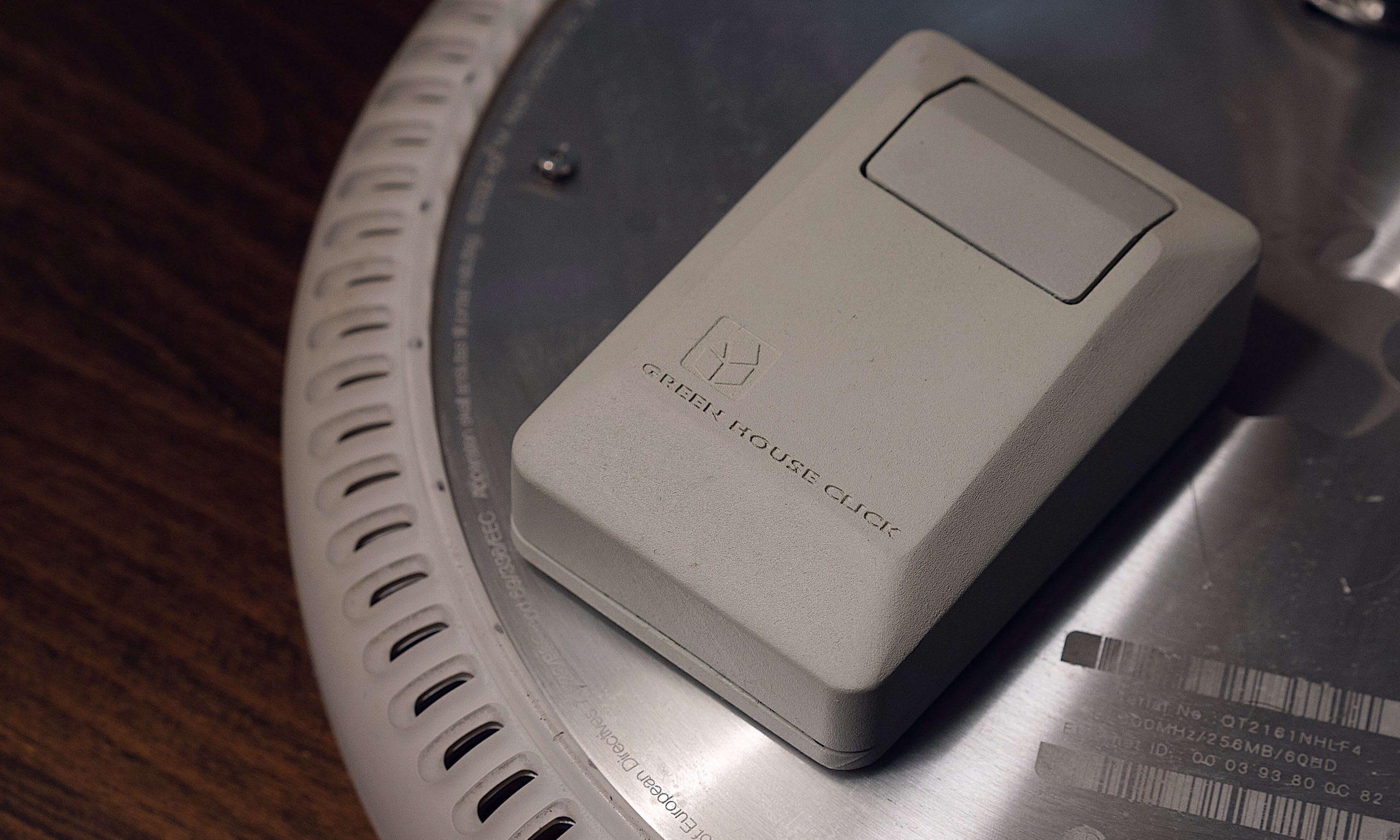 致敬经典,GREEN HOUSE 推出「Click」无线鼠标设计