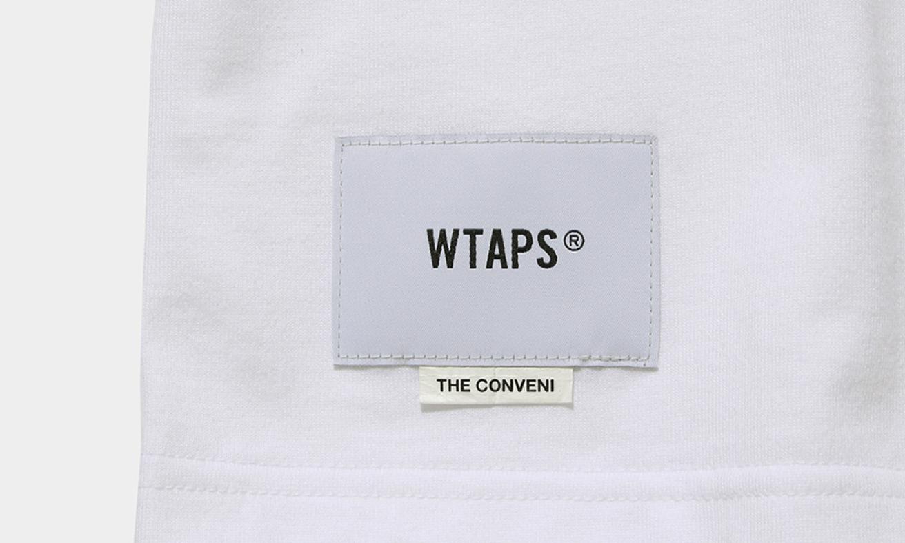 WTAPS x THE CONVENI 联名新作基础 T 释出