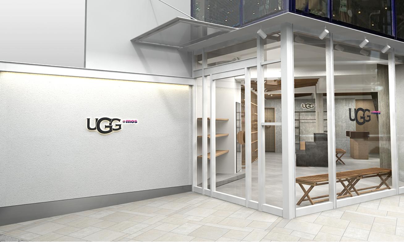 UGG x atmos 概念店铺 UGG@mos 即将于原宿开业
