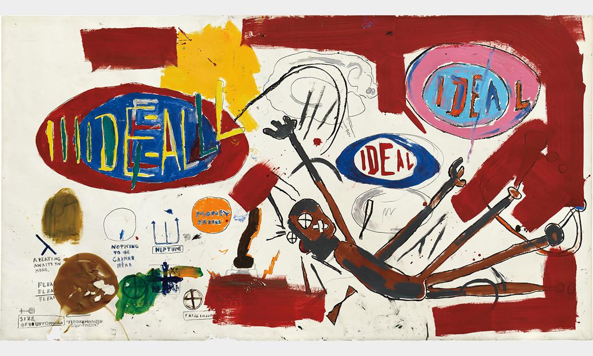 美国艺术家 Jean-Michel Basquiat 油画作品《Victor 25448》即将公开竞拍