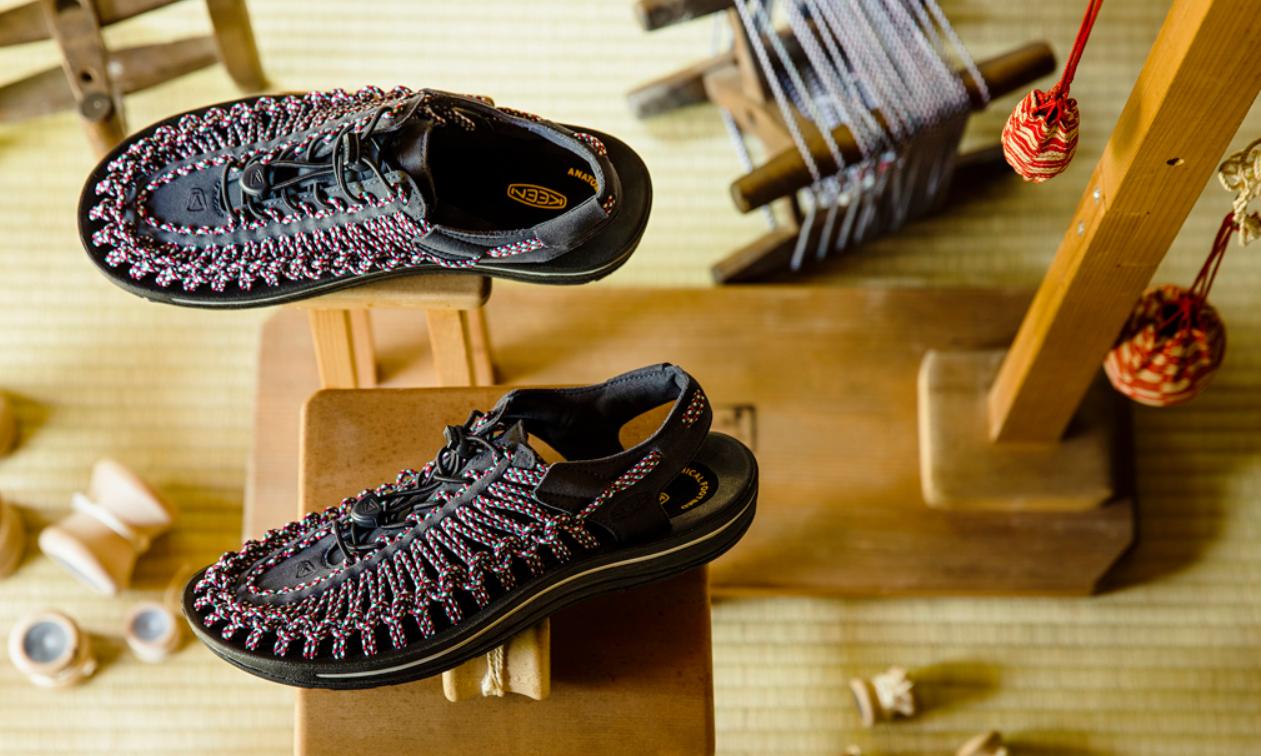 户外鞋履品牌 KEEN 与 OSHMAN 联手打造 UNEEK 鞋款