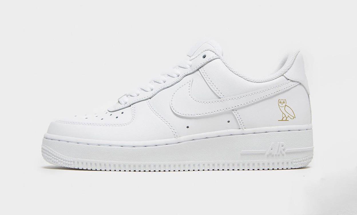 Nike 或将与 Drake 个人品牌 OVO 打造联名 Air Force 1