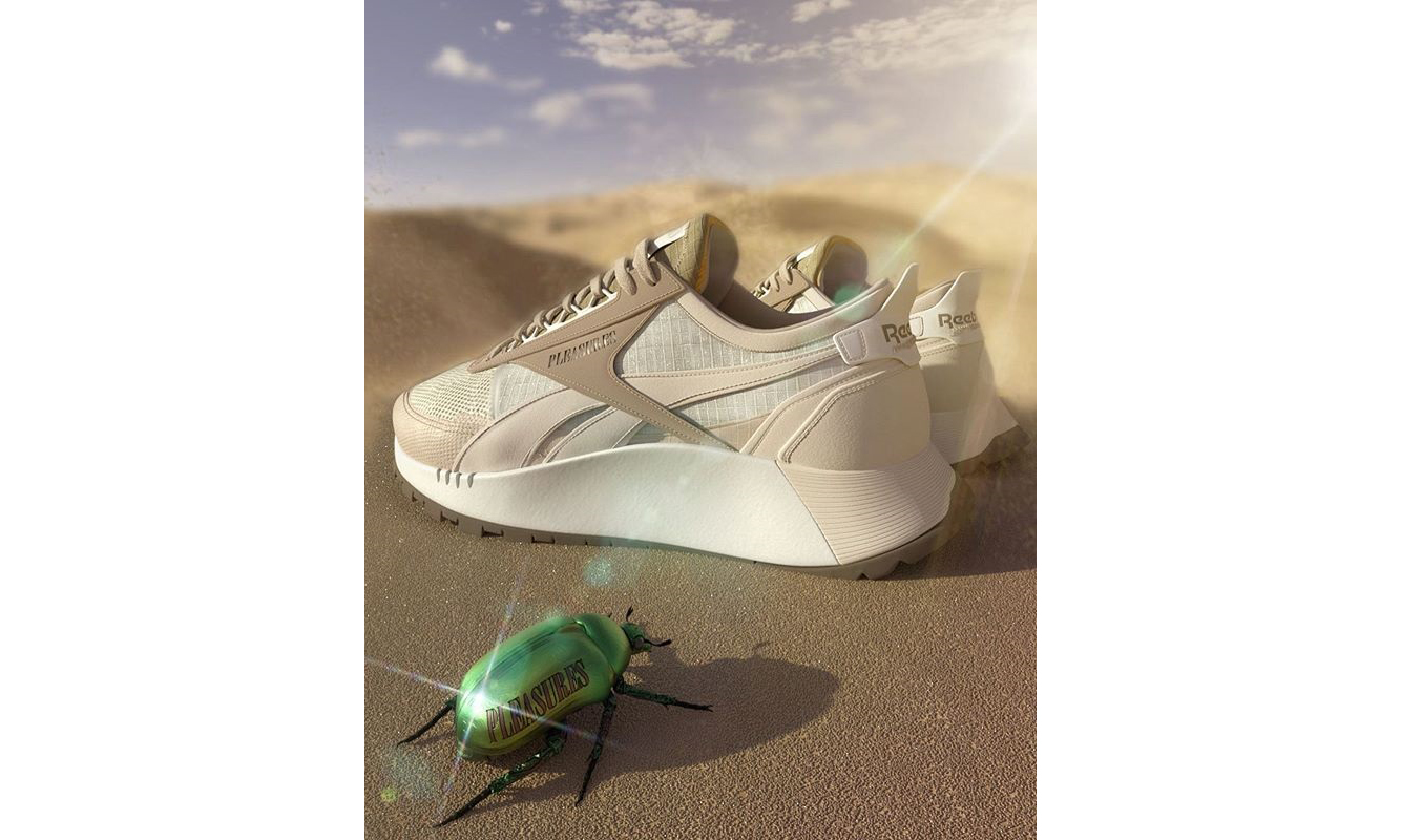 抢先预览 PLEASURES x Reebok 新合作鞋款