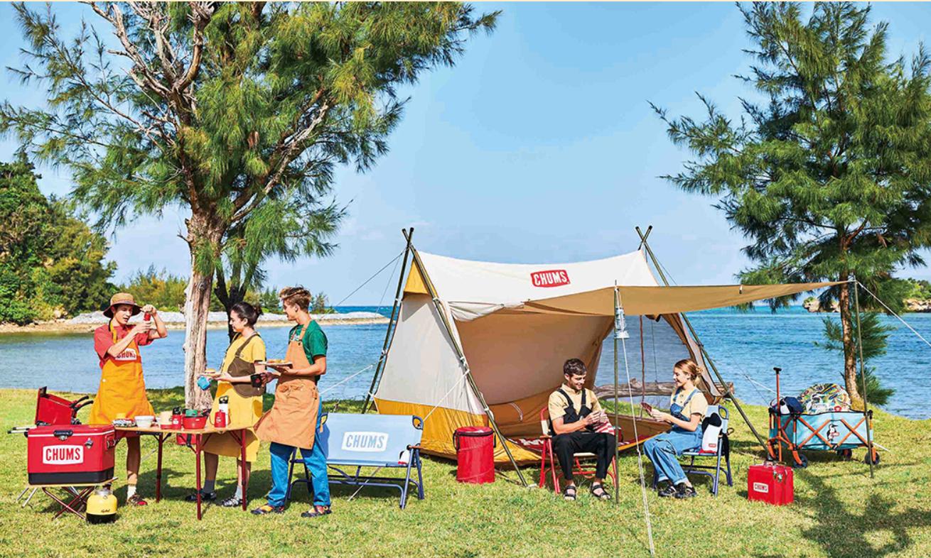 美式户外品牌 CHUMS 推出复古露营帐篷