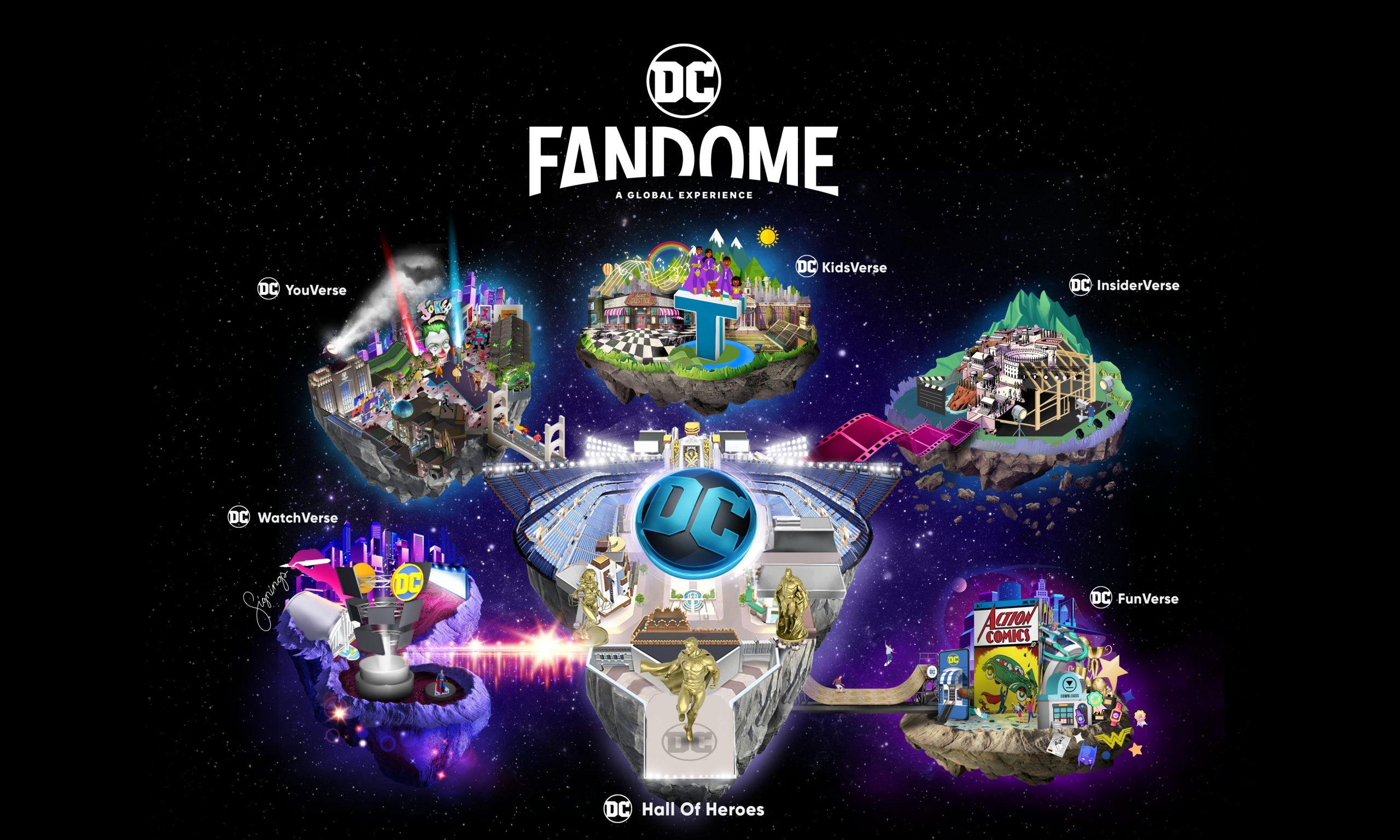 DC 宣布将在 8 月 22 日举办线上虚拟盛会