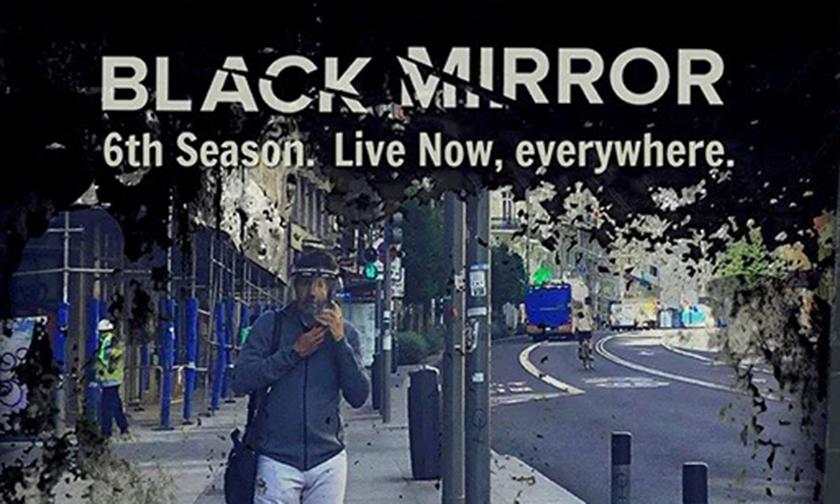 「《黑镜》第六季正在上演」,Netflix 广告现身马德里