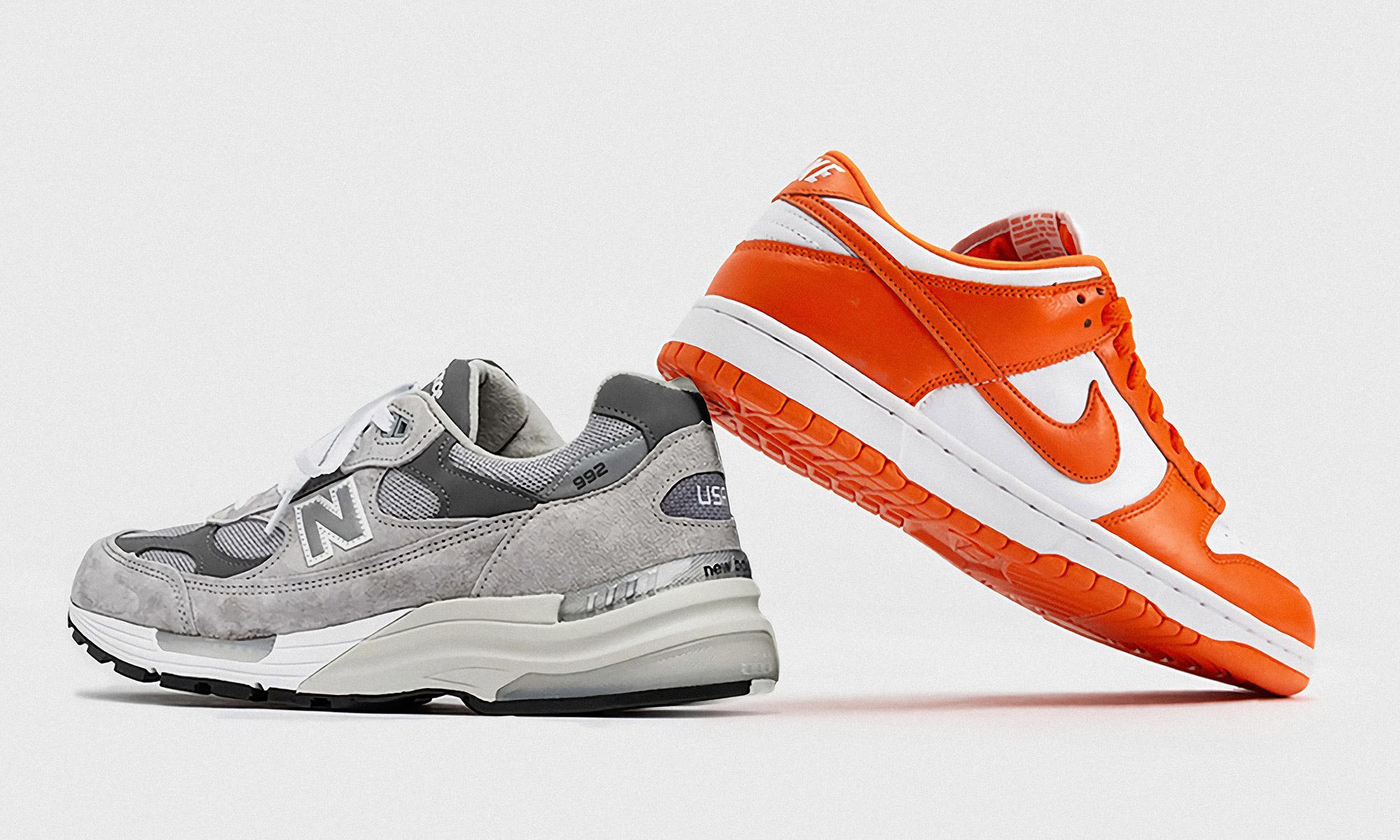 目前很火的 Nike Dunk 和 NB 992,你选哪个?
