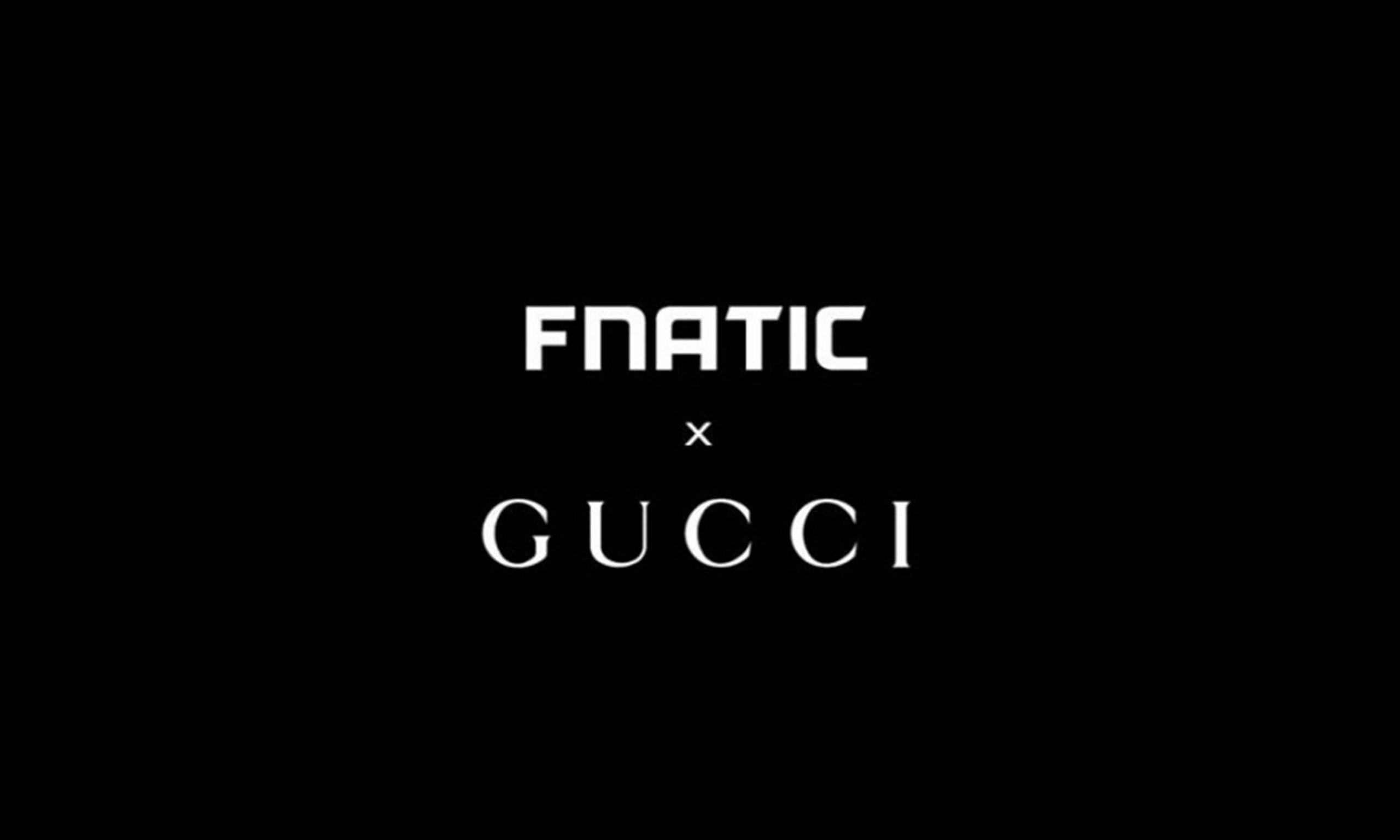 FNATIC 宣布将与 Gucci 合作打造联名商品
