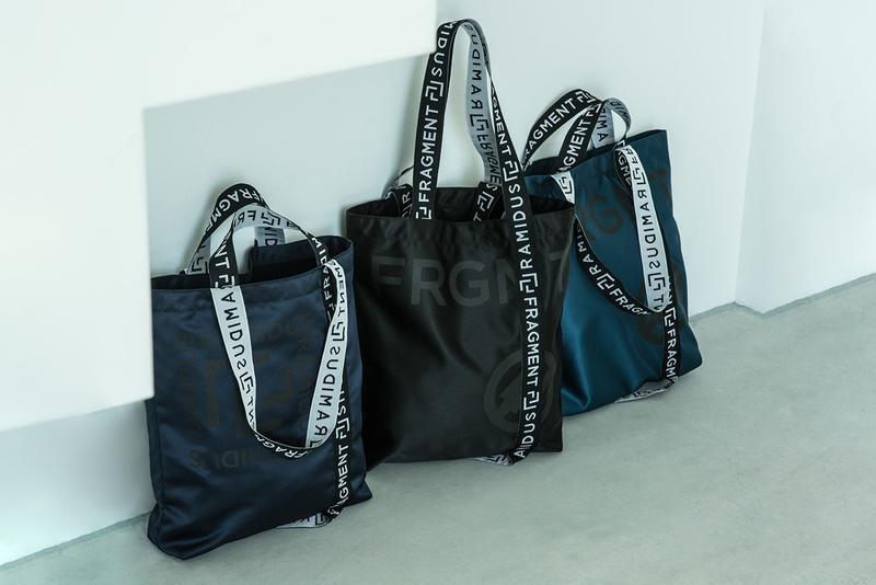 RAMIDUS x fragment design 推出合作包袋系列
