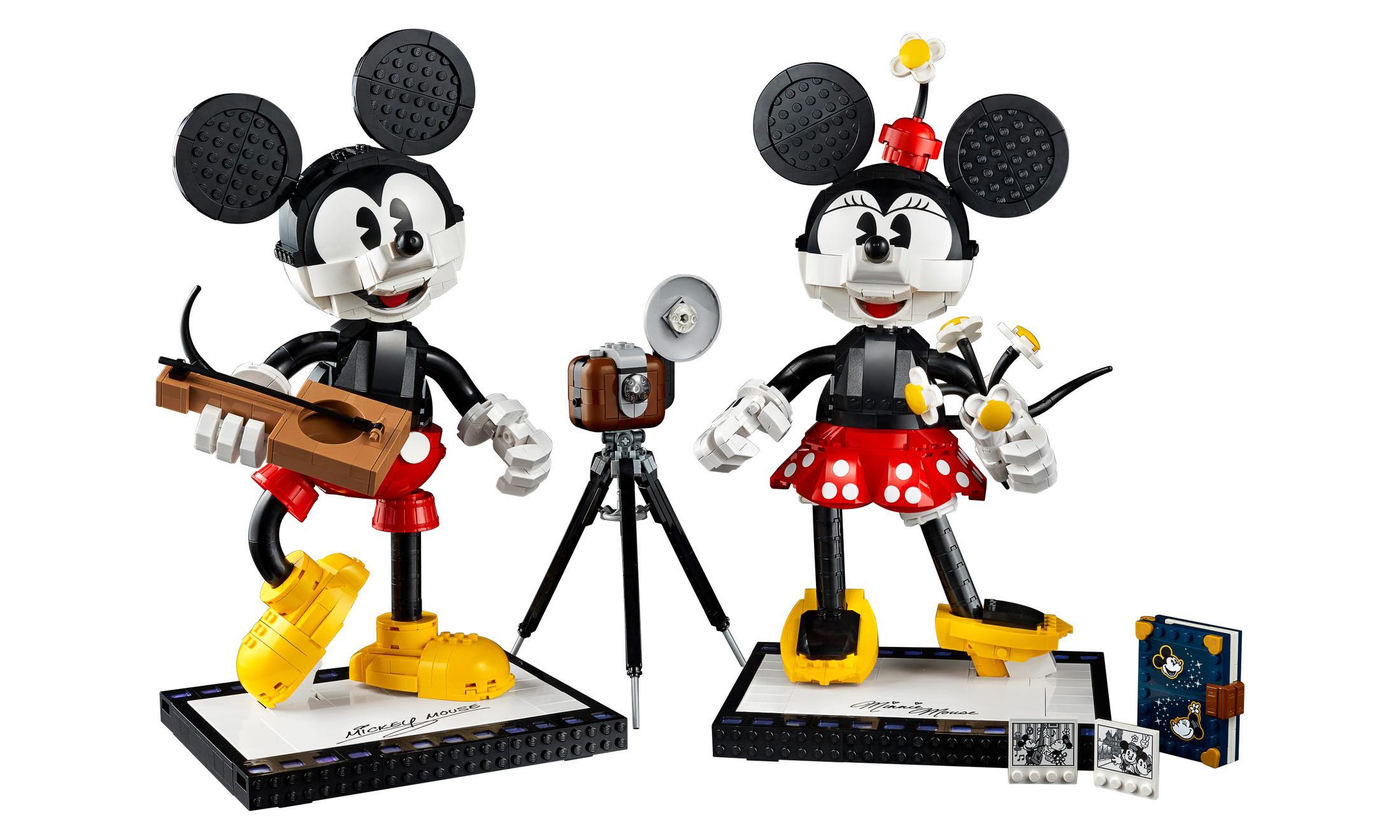 美好「大」回忆,LEGO 推出 Mickey & Minnie 套装