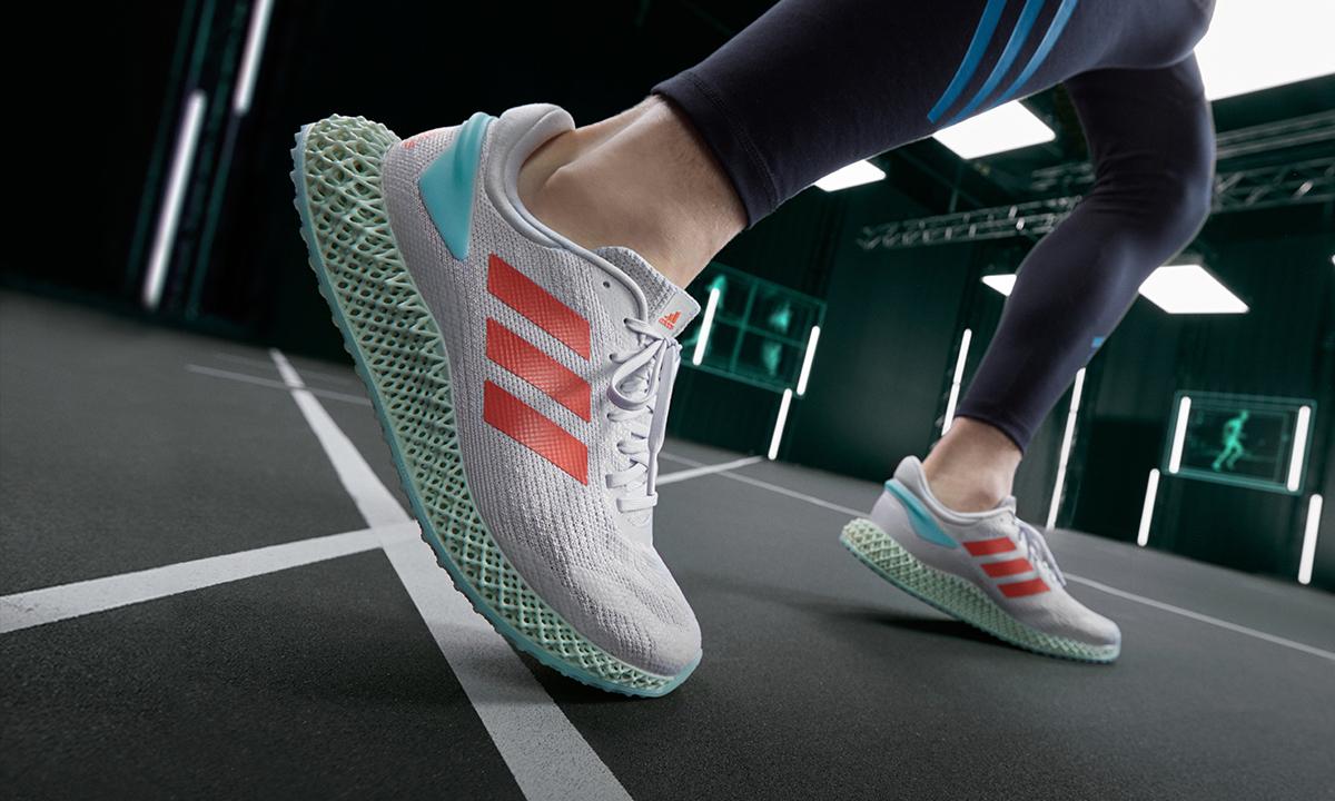 颠覆运动未来,adidas 以可回收材质打造 RUN 4D 1.0