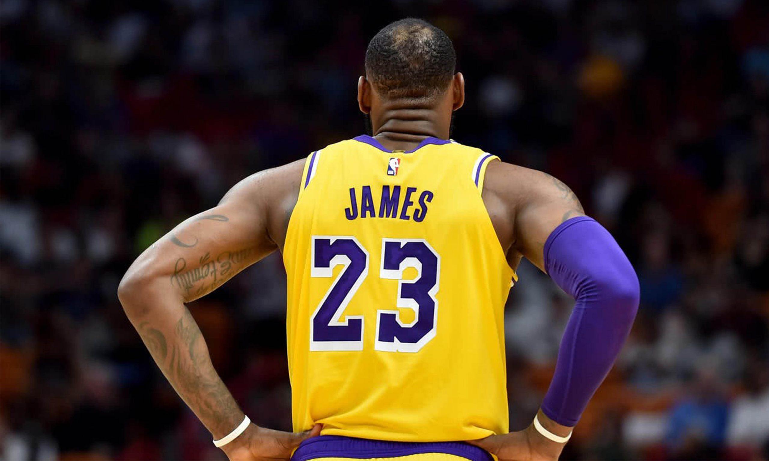 NBA 或将允许球员更改球衣名字