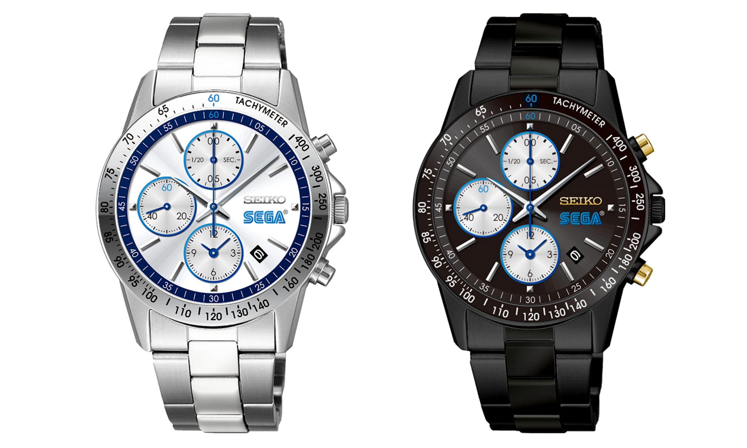 SEGA 与日本手表制造商 SEIKO 推出合作系列