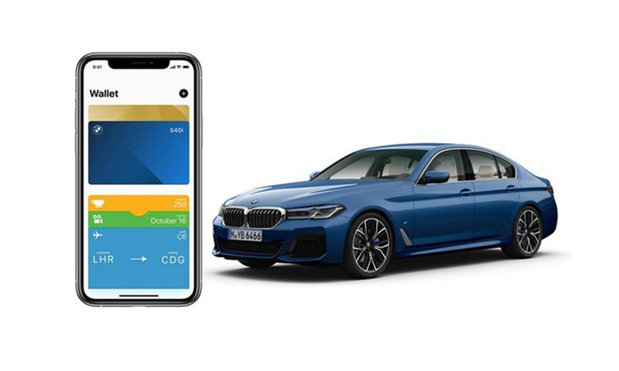宝马宣布 iOS 13.6 用户即可使用数字汽车钥匙功能
