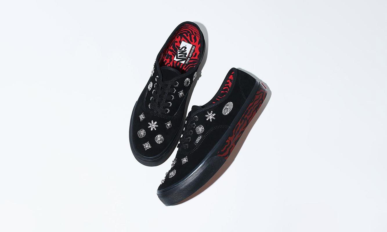 TOGA x Vans 联名 Authentic 鞋款释出