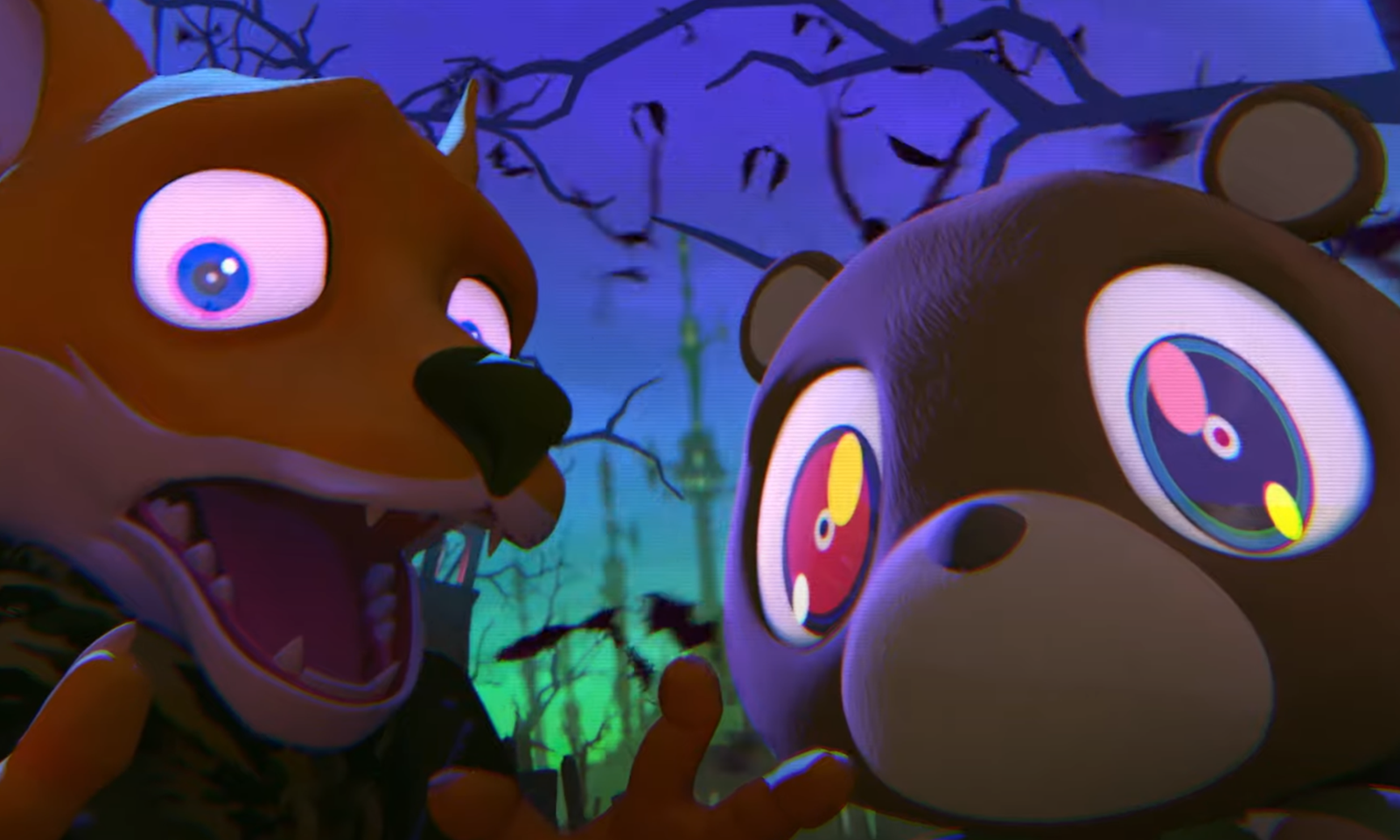 Kanye West 与 Kid Cudi 将推出《Kids See Ghosts》同名动画片