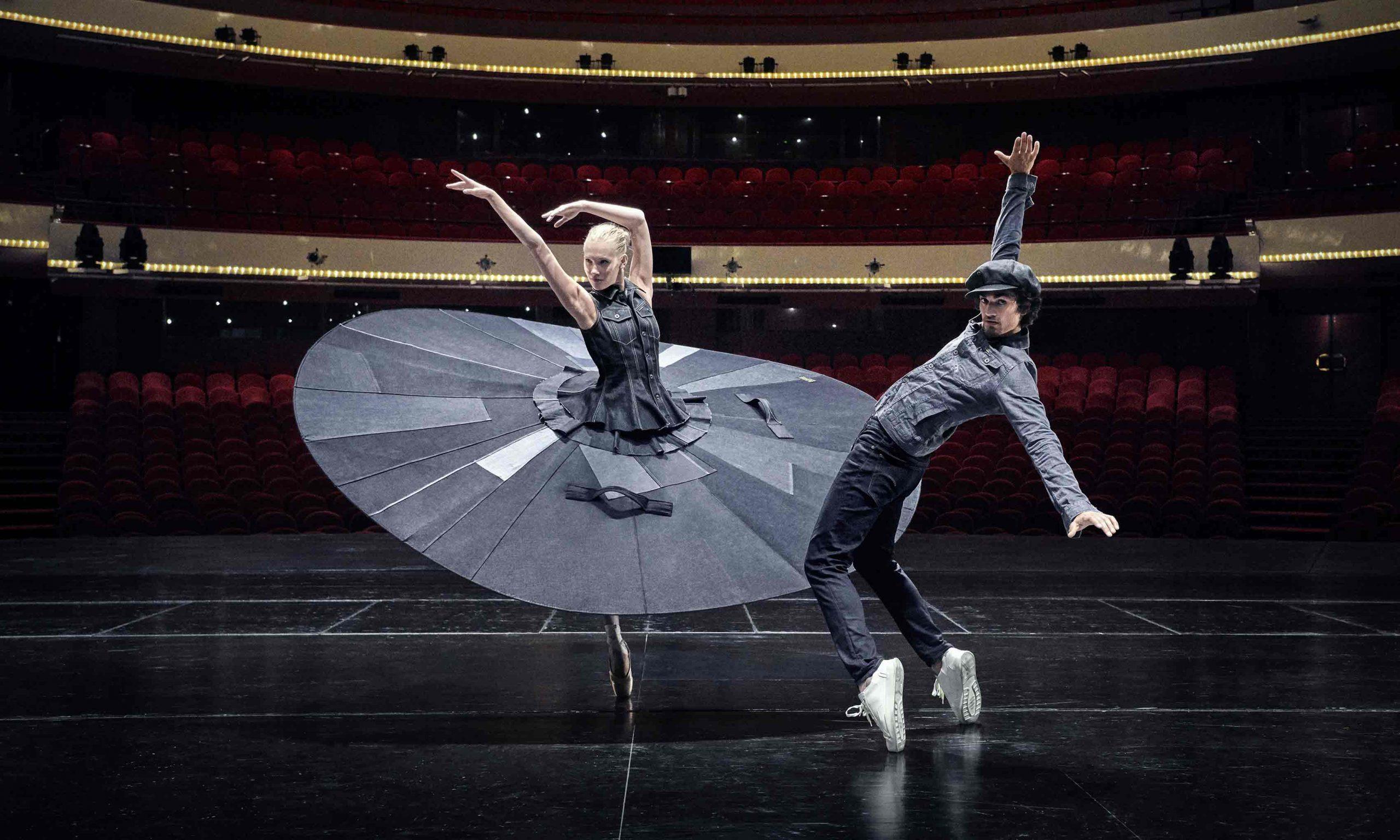 G-Star RAW 携手荷兰国家芭蕾舞团,演绎「安全社交距离芭蕾舞」