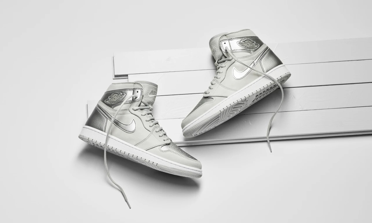 2020 双,Air Jordan I Retro High OG CO.JP「Metallic Silver」超限量回归
