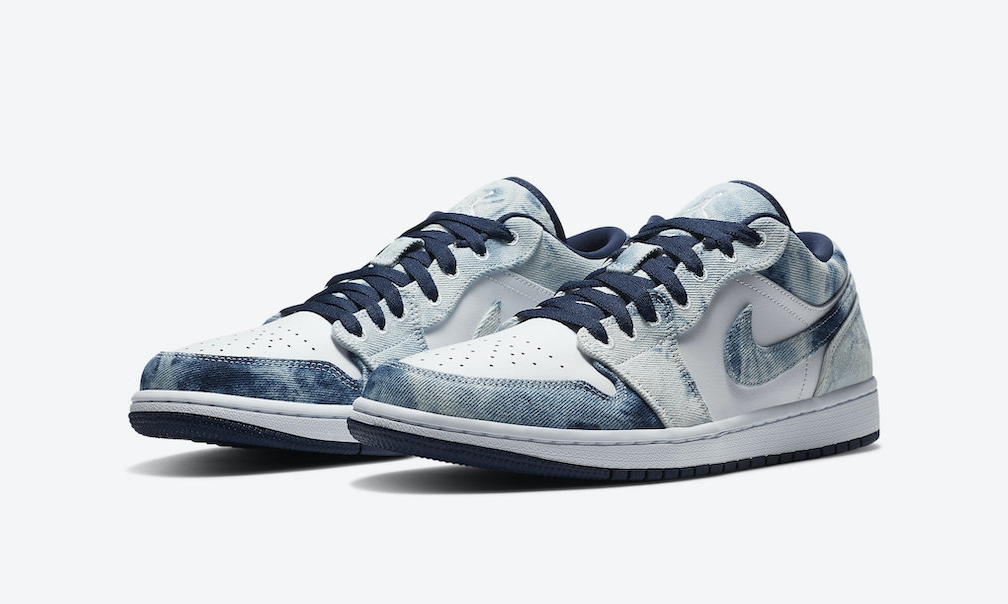 Air Jordan I Low「Washed Denim」官方图片发布