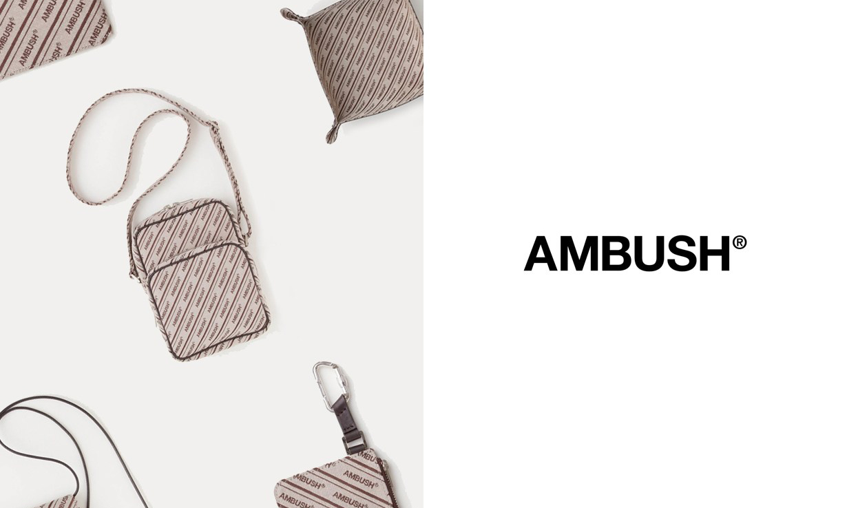 AMBUSH 推出 Logo Canvas 配件系列