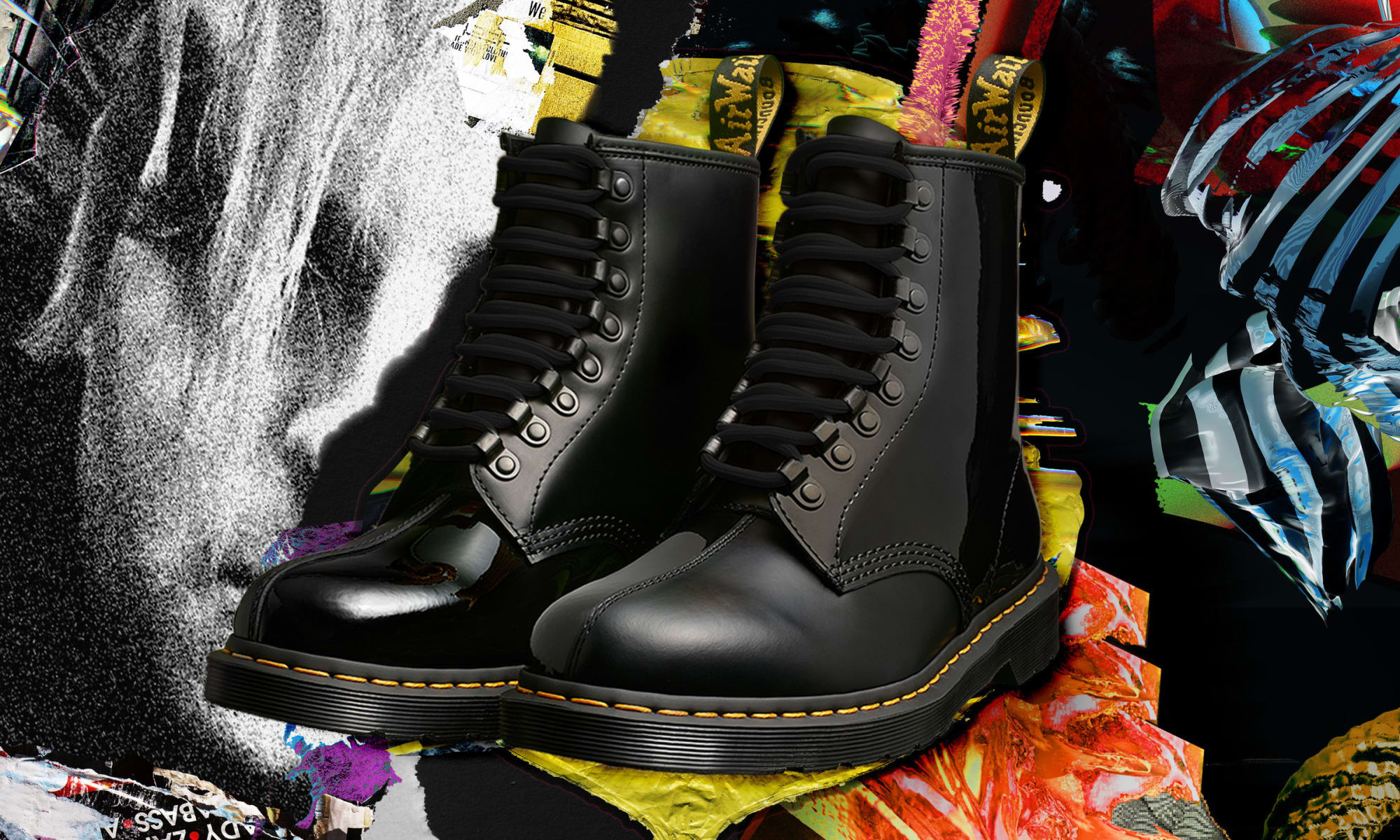 PLEASURES x Dr.Martens 联名 1460 靴款释出