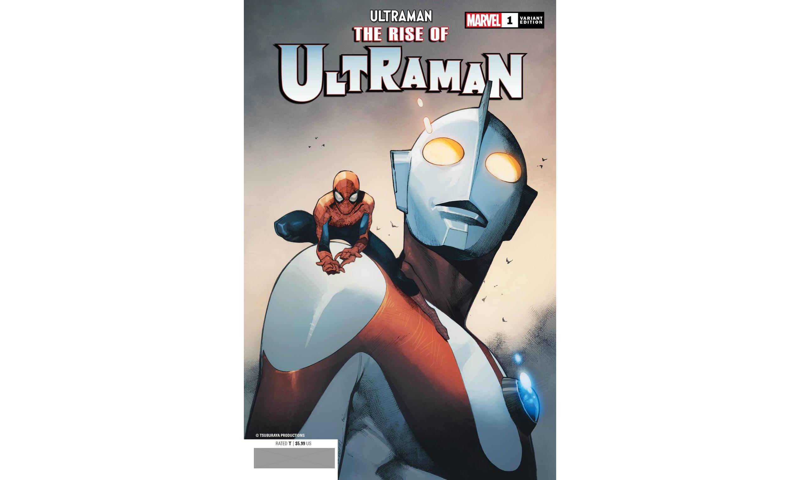 漫威圆谷合作漫画《奥特曼崛起》将与蜘蛛侠联动