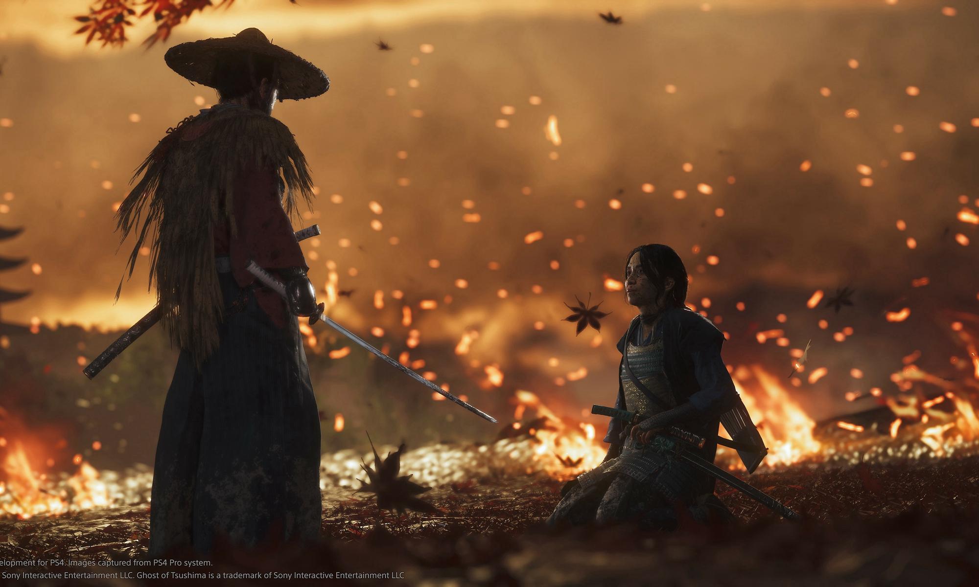 PlayStation 大作《对马岛之鬼》发布全新预告特辑