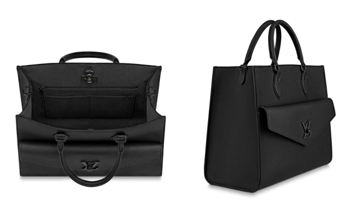 极简质感,Louis Vuitton Lockme 系列释出新款包袋