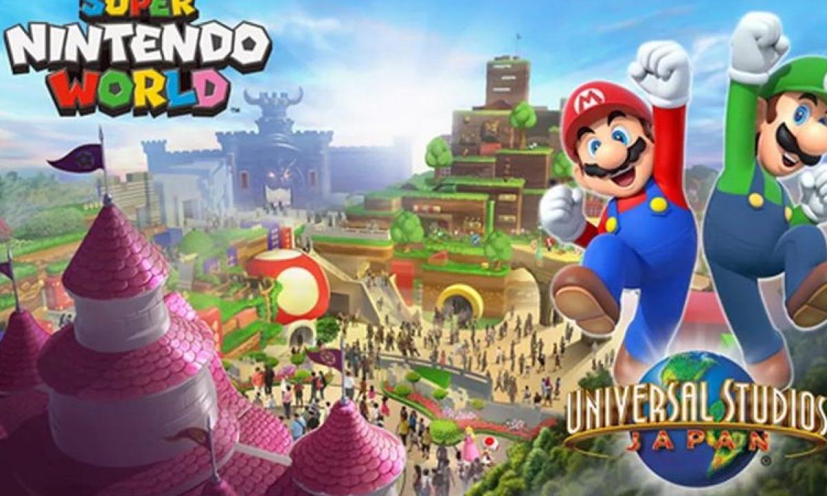 USJ 超级任天堂世界主题乐园宣布延期开业