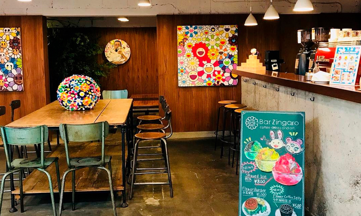 村上隆咖啡馆 Bar Zingaro 将重新开放三天
