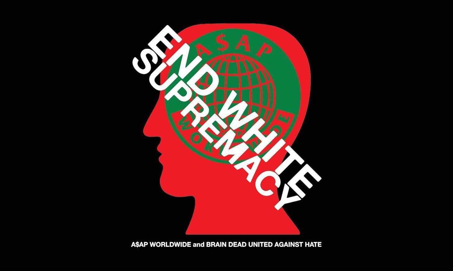 Brain Dead 将联手 A$AP Mob 为种族歧视事件发声