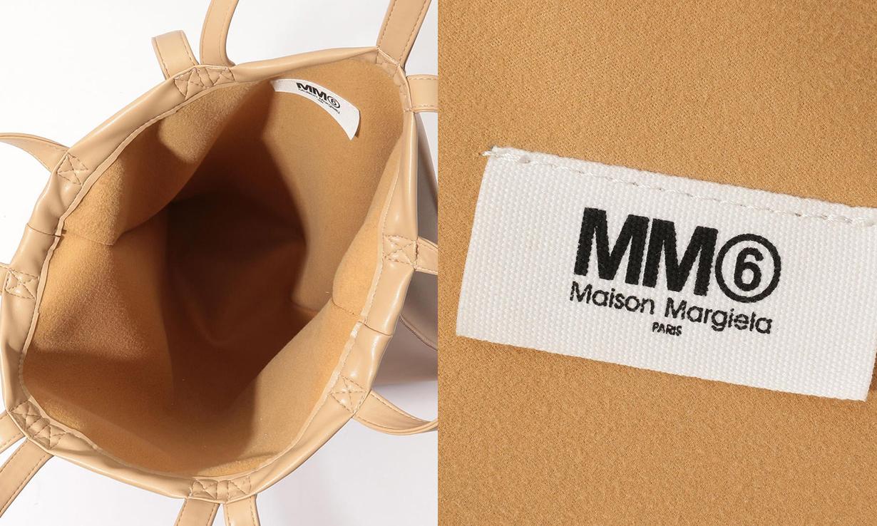 MM6 Maison Margiela 推出限定版米色皮革 Tote Bag