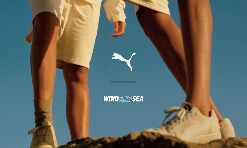 PUMA x WIND AND SEA 合作系列现已登场