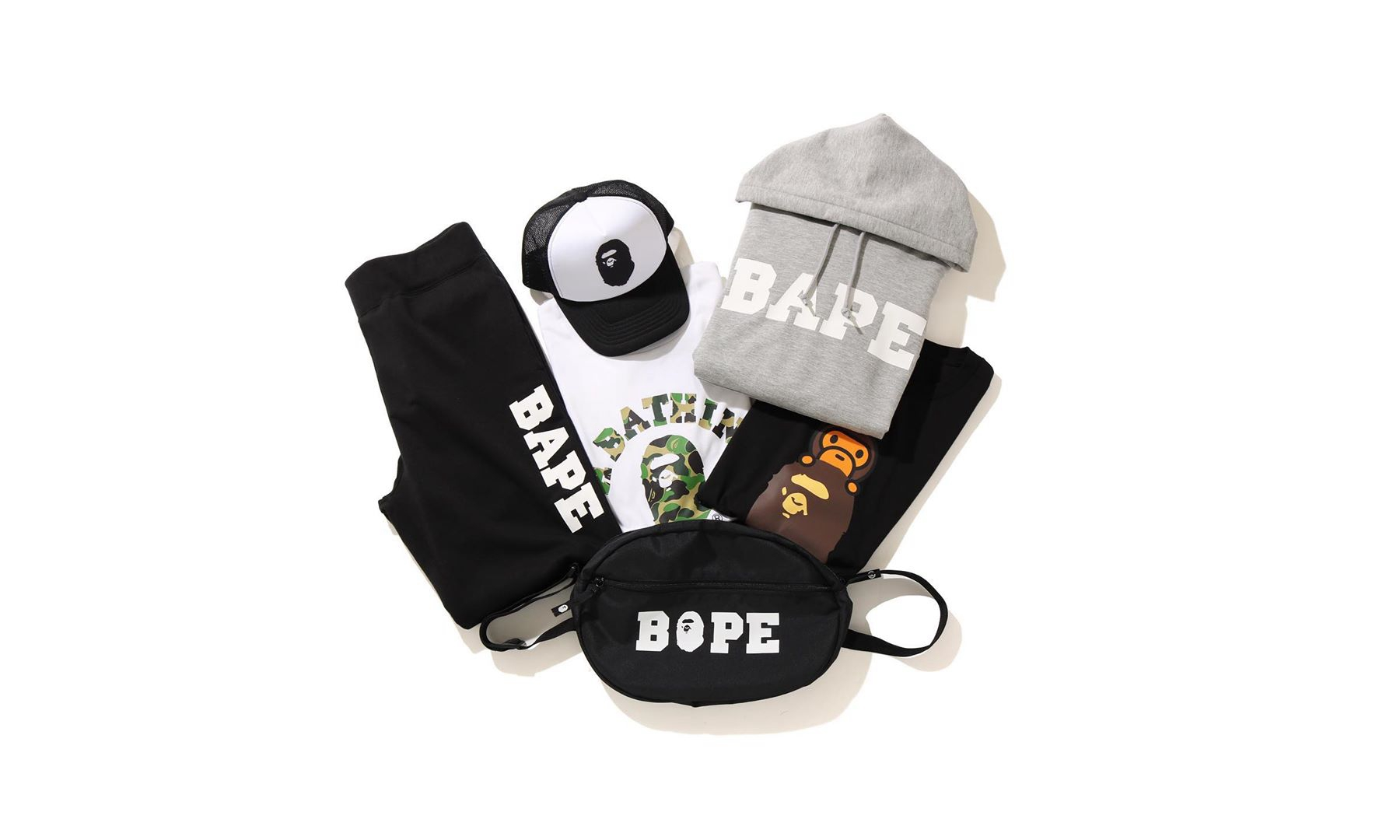 A BATHING APE® 推出全新「Family Bag」福袋