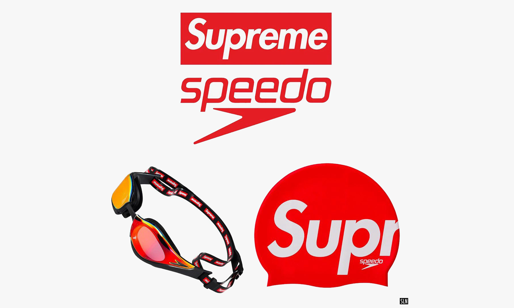 Speedo x Supreme 合作系列本周正式登场
