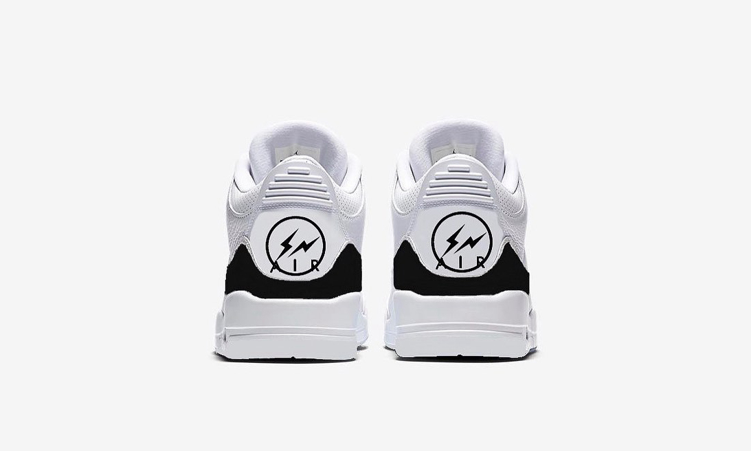 fragment design x Air Jordan III 新配色首度曝光