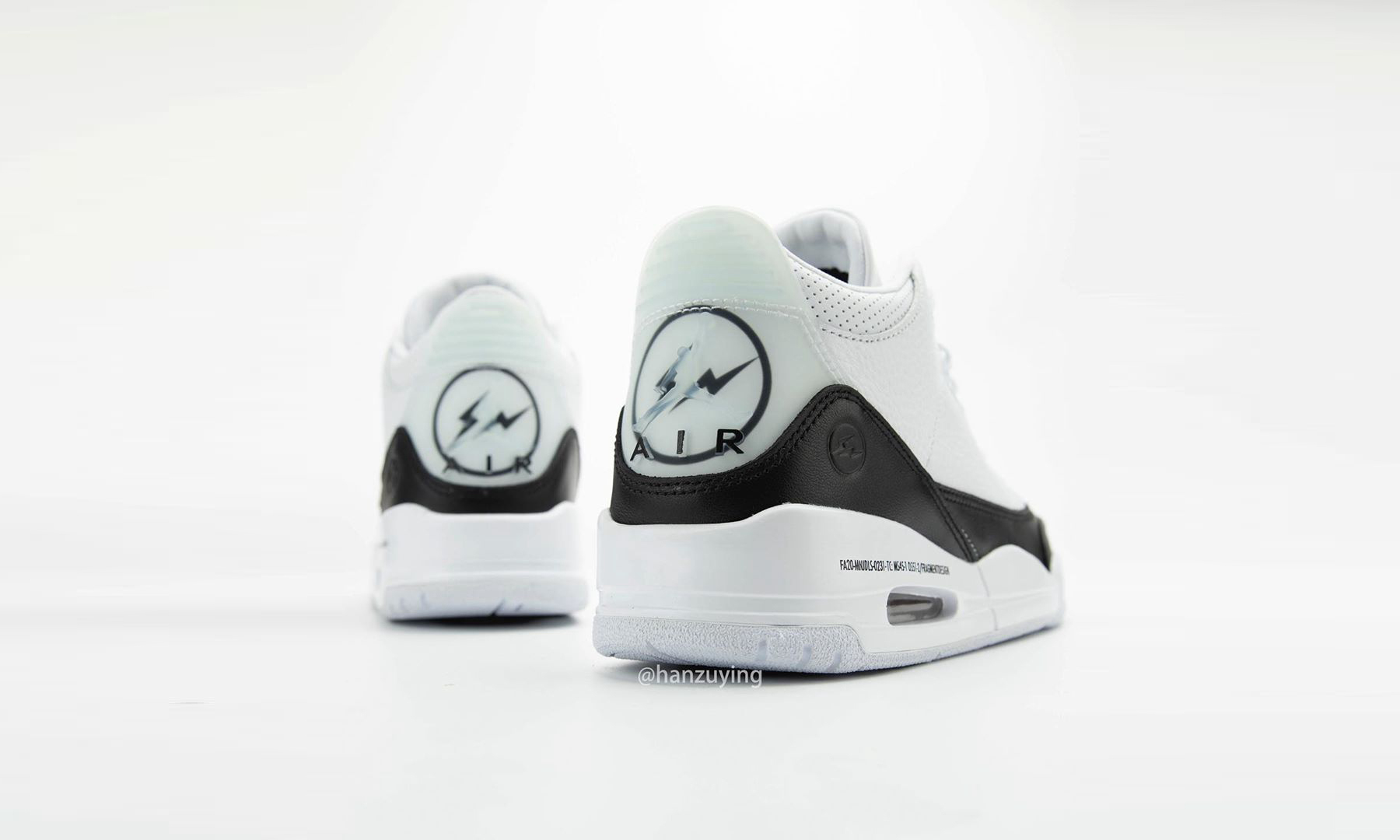 fragment design x Air Jordan III 全新联乘实物近赏