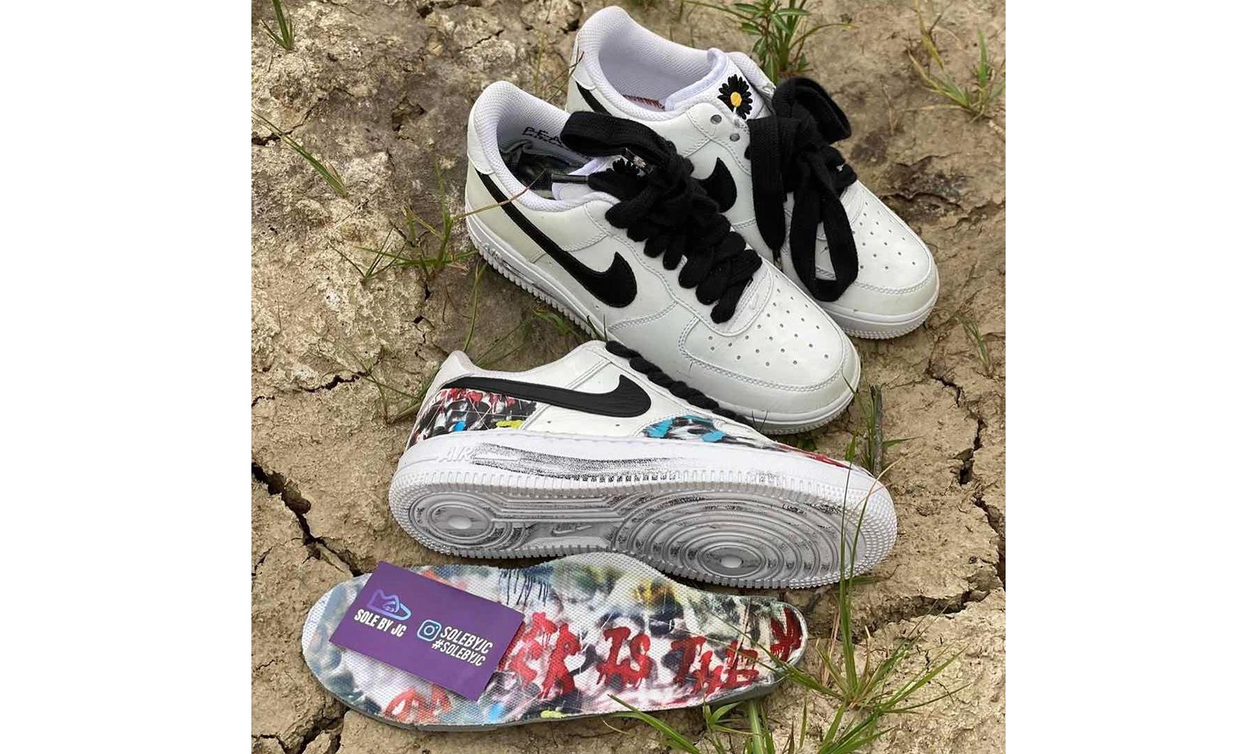 PEACEMINUSONE x Nike Air Force 1 最新实物近赏出炉