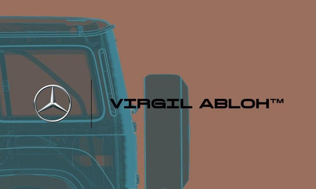 Virgil Abloh 将与 Mercedes-Benz 展开全新跨界合作