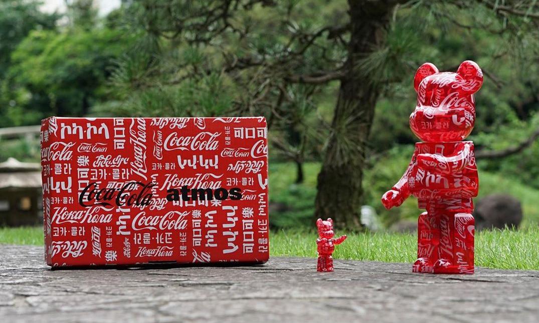 Coca-Cola x atmos x MEDICOM TOY 全新三方合作 BE@RBRICK 正式登场