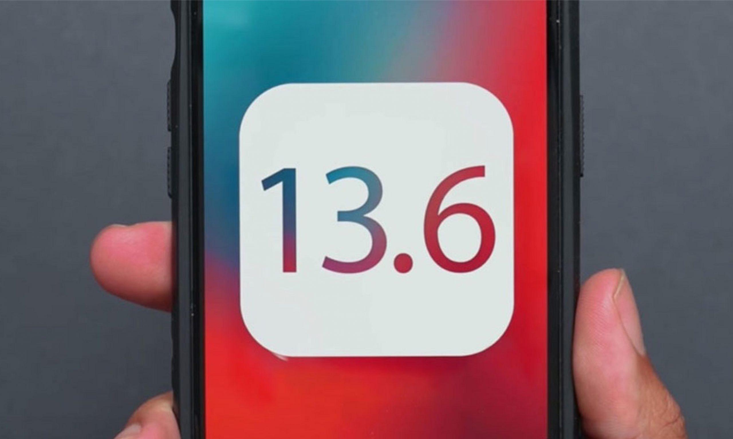 苹果发布 iOS 13.6 正式版