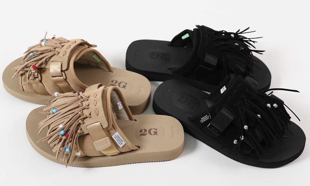 涩谷潮流店铺 2G TOKYO 联手 SUICOKE 推出限定合作款凉鞋