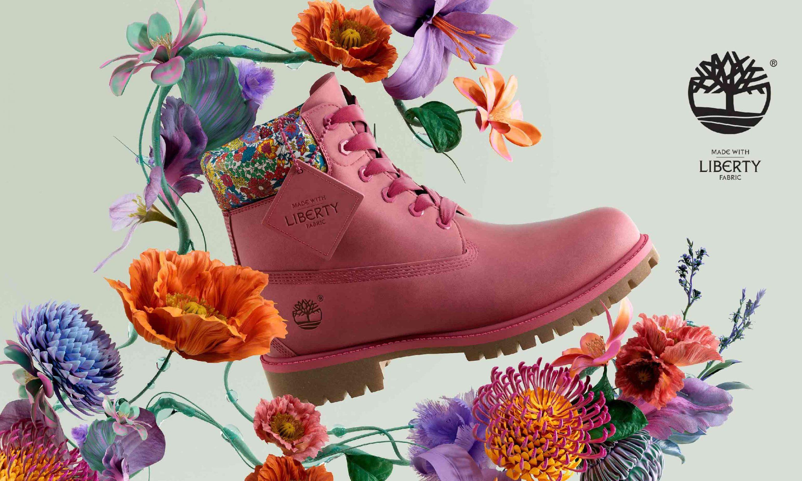 融入 Liberty Fabrics 经典印花,Timberland 全新鞋款上市