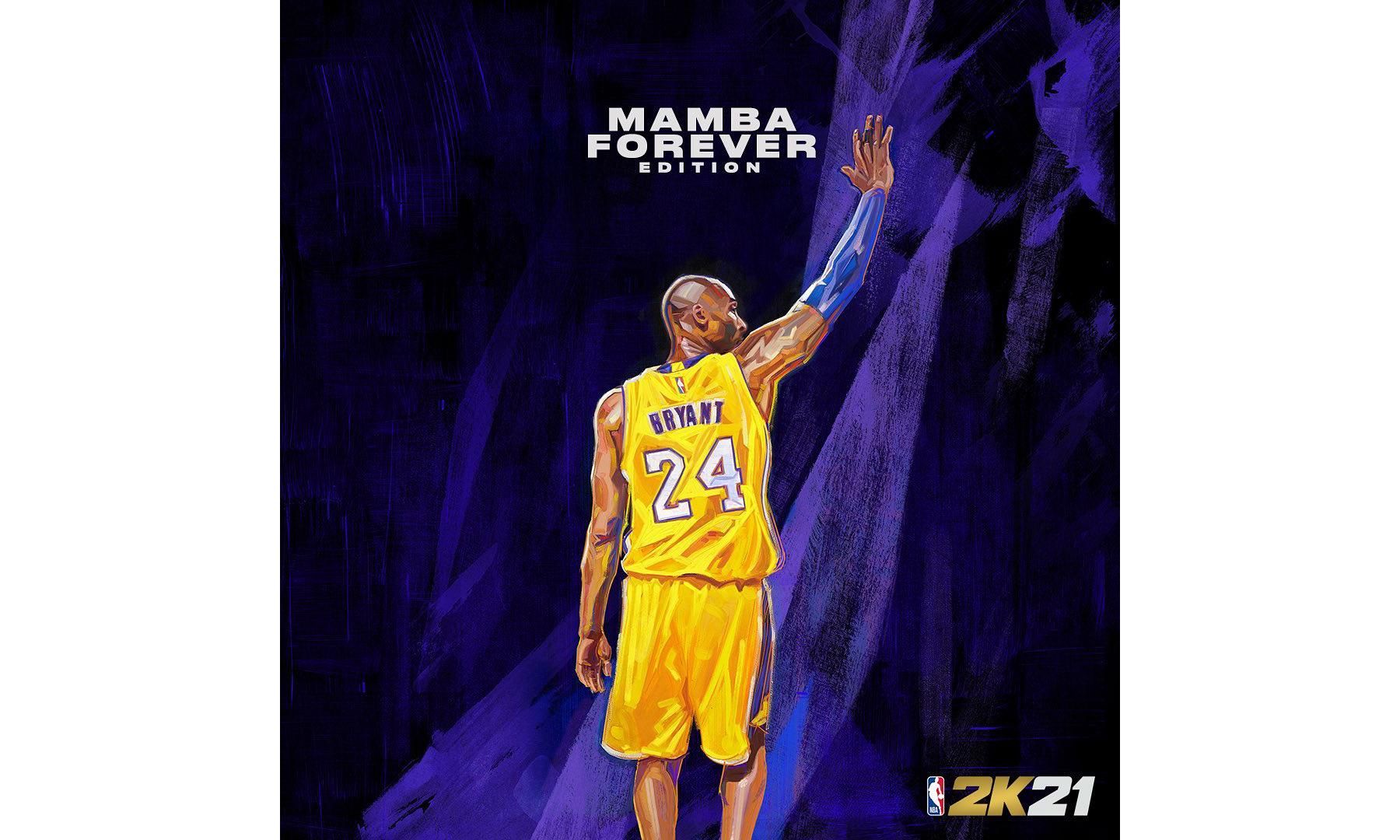 科比封面来了,《NBA 2K21》公布将推出曼巴永恒版